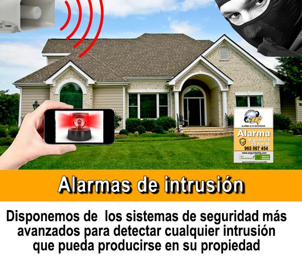 alarma de intrusion